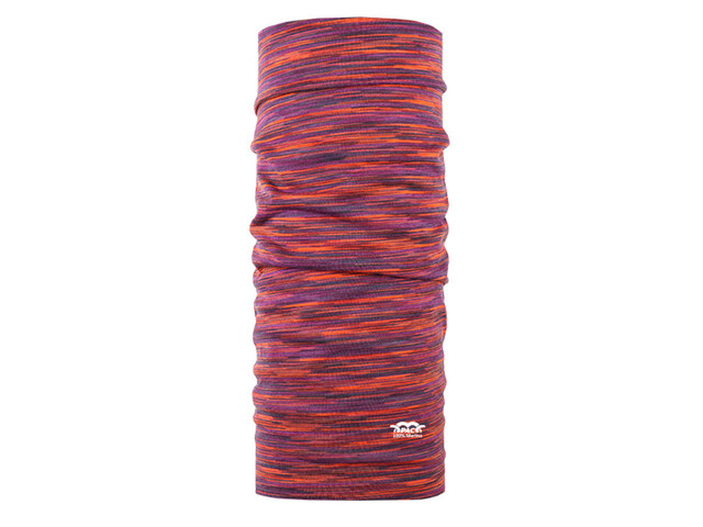 P.A.C. Merino Wool Neckwear orange/purple